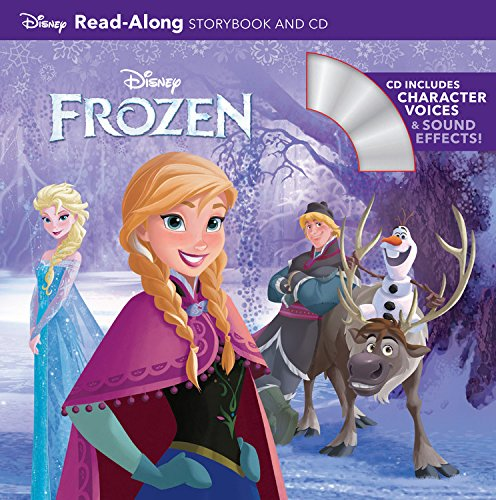 Frozen Read-Along Storybook and CDの詳細を見る