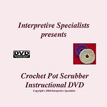 Crochet Pot Scrubber Video Instruction for Beginners