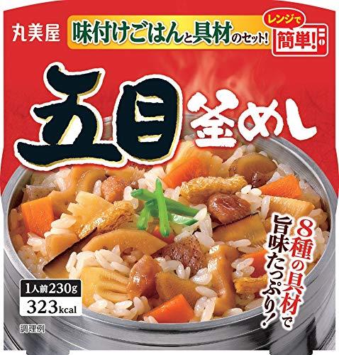 丸美屋食品工業 五目釜めし 味付けごはん付き 230g×6個