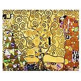 Legendarte Cuadro Lienzo, Impresión Digital - El Árbol De La Vida - Gustav Klimt cm. 80x100 - Decoración Pared