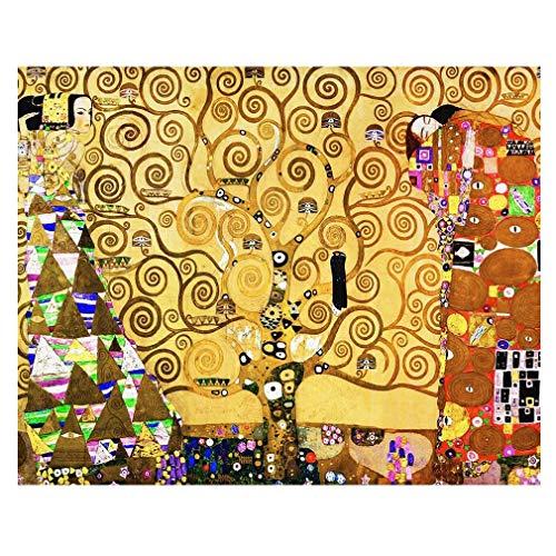 Legendarte Cuadro Lienzo, Impresión Digital - El Árbol De La Vida - Gustav Klimt - Decoración Pared