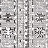 Fabulous Fabrics Canvas Winterliches Strick Muster –