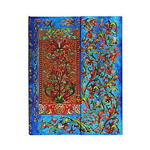 Paperblanks - Florentiner Kaskade Delphinium - Notizbuch Ultra Liniert