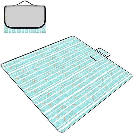 LISAWEI Picknickdecke Im Freien Wasserdichte Teppich Teppich Teppich Tragbare Strand Gras Verdickung Reise Pad 200x150 cm (Farbe   C) B07PSPBWPN | Um Zuerst Unter ähnlichen Produkten Rang  3678d8