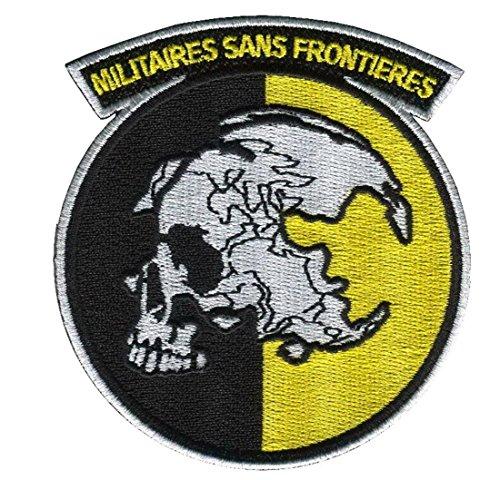 Unbekannt Militaires Sans Frontieres Metal Gear Solid Snake Cosplay Aufnäher Patch