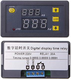 YoungerY (1pc Temporizador del módulo de relé de retardo de Tiempo de 220 V