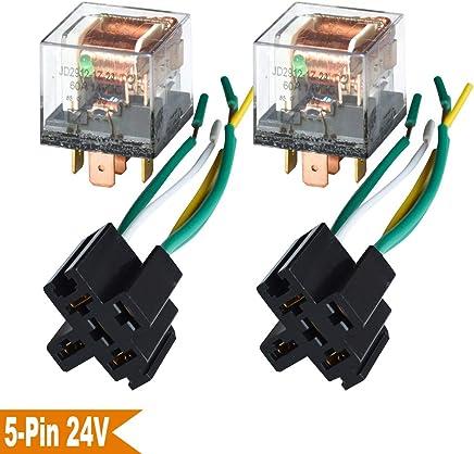 Amazon.es: motor 24v - Relés / Interruptores y relés: Coche y moto