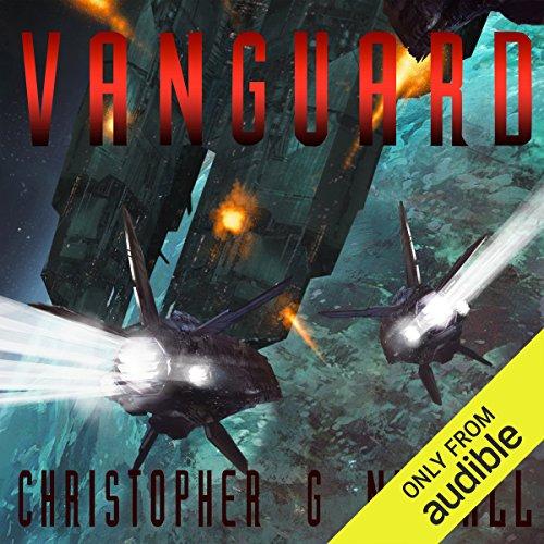 Vanguard audiobook cover art
