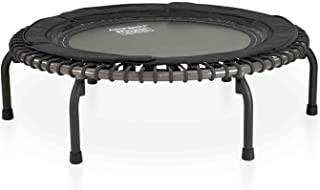 JumpSport 570 PRO   Fitness Trampoline   Professionals' Choice   Extra Large Surface for More Freedom   Non-Tipping Wide A...