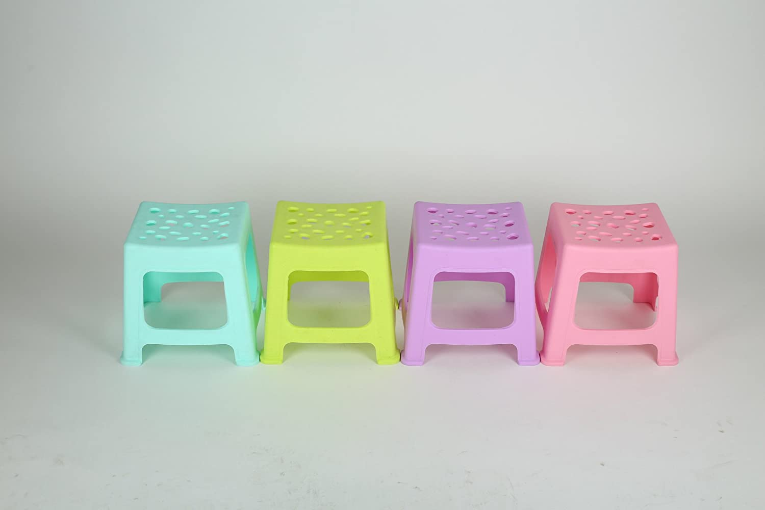 Dana Carrie A plastic stool, Chair of the cold stool square exposed 4PCS