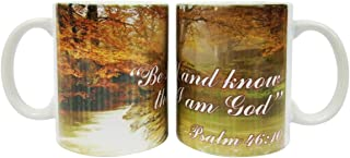Christian Coffee Mug - Be still and Know bible verse Mug