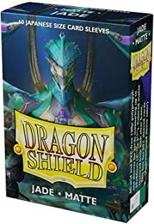 Dragon Shield Sleeves - Matte Japanese Jade 60 CT – MGT Card Sleeves are Smooth & Tough – Compatible with Pokemon, Yugioh,...