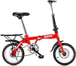 M/änner und Frauen leichtes Mini-Faltrad erwachsenes weibliches Faltrad-Studentenauto f/ür Erwachsene kleines tragbares City Falt Mini Kompaktfahrrad Hffan 20 Zoll Outroad-Mountainbike