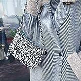 Bolso de mano para mujer, diseño retro de cocodrilo, con solapa de piel, estilo casual y sólido, E, as show