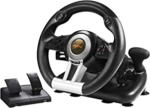 PC Racing Wheel, PXN V3II 180 Degree Universal Usb Car Sim Race Steering Wheel with..