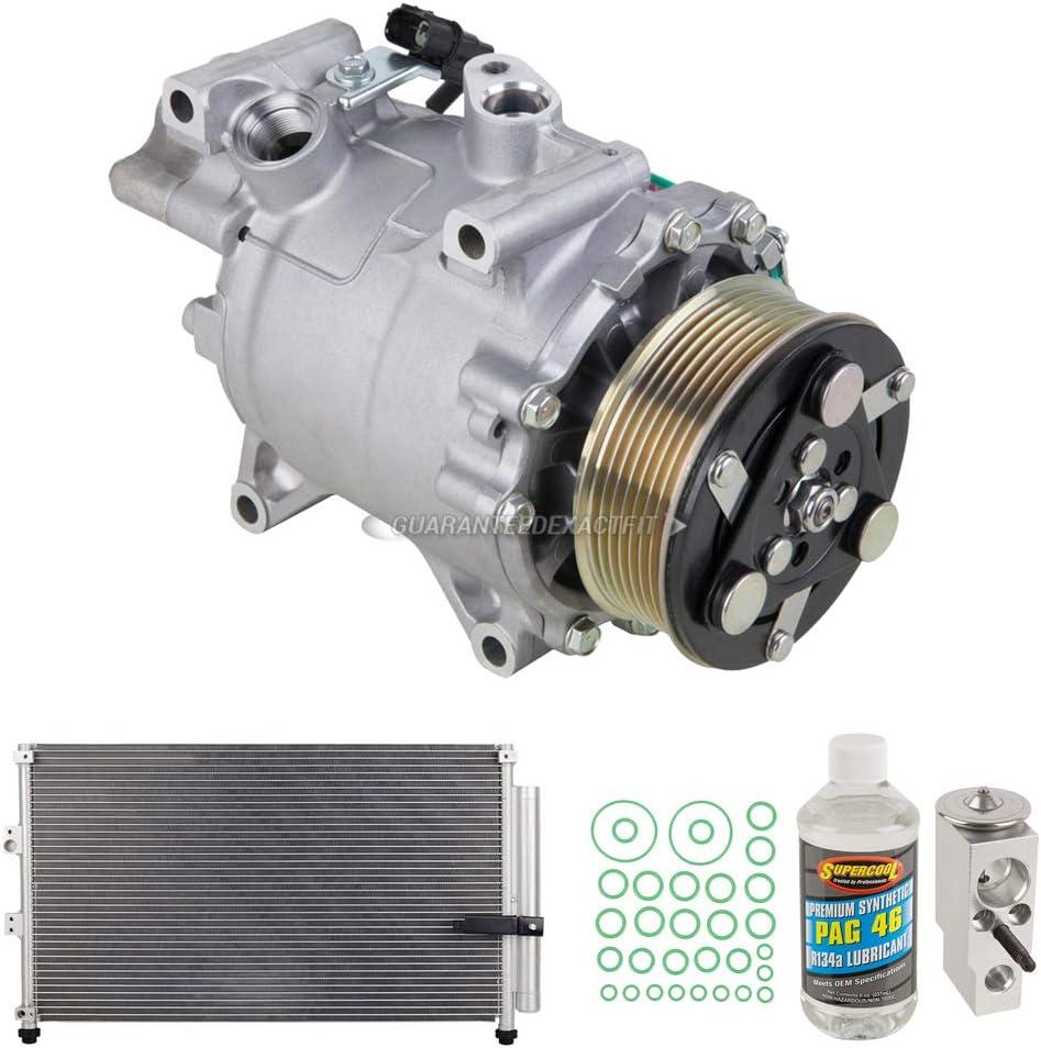 Large-scale sale For Honda Civic Save money 2007-2011 OEM AC Compressor Condenser Drier - w