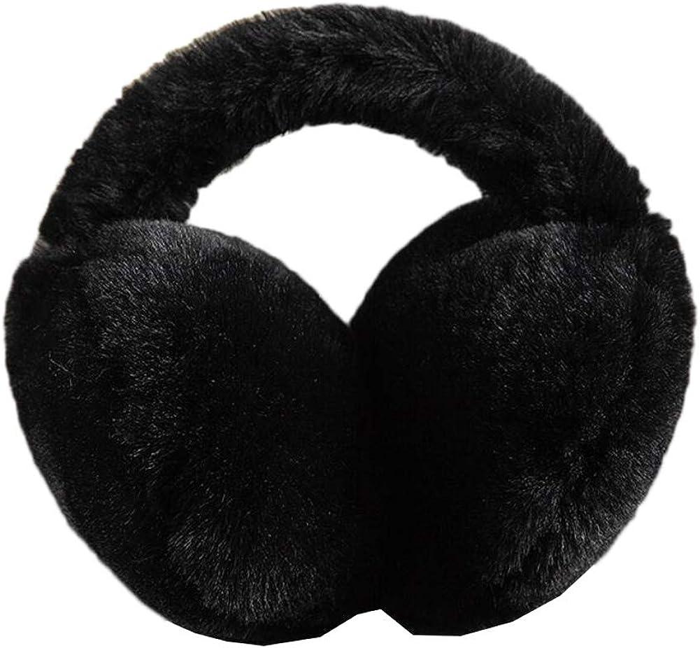 Cute Animal Soft Earmuffs Winter Warm Outdoor Ear Covers Headband Fur Ear warmer,#B6