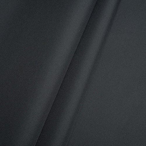 Erstklassiger Polyester Oxford 250D 1lfm - Wasserabweisend, Winddicht, Outdoor Stoff, Gartenmöbel Stoff (Dunkelgrau)