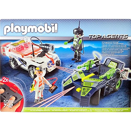 Playmobil 5088 Top Agents Spy Team/Robo-Gangstar