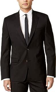 Solid Black Ultraflex Wool Blazer