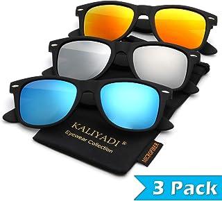 339971b17ecf Mens Polarized Sunglasses for Women Semi Rimless Frame Driving Sun glasses:100%  UV Blocking