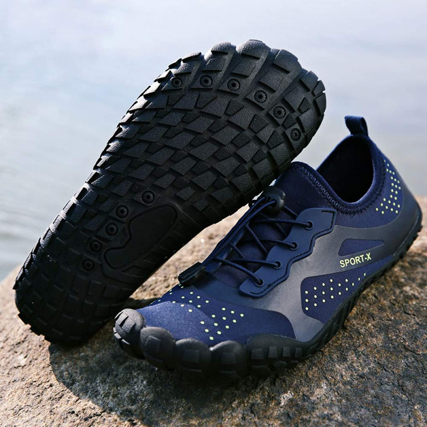 XLGJSX Water shoes Mens Slippers For Swimming shoes For Water Diving Aqua Diving Summer Aqua Beach Skin shoes Sneaker For Sea For Men