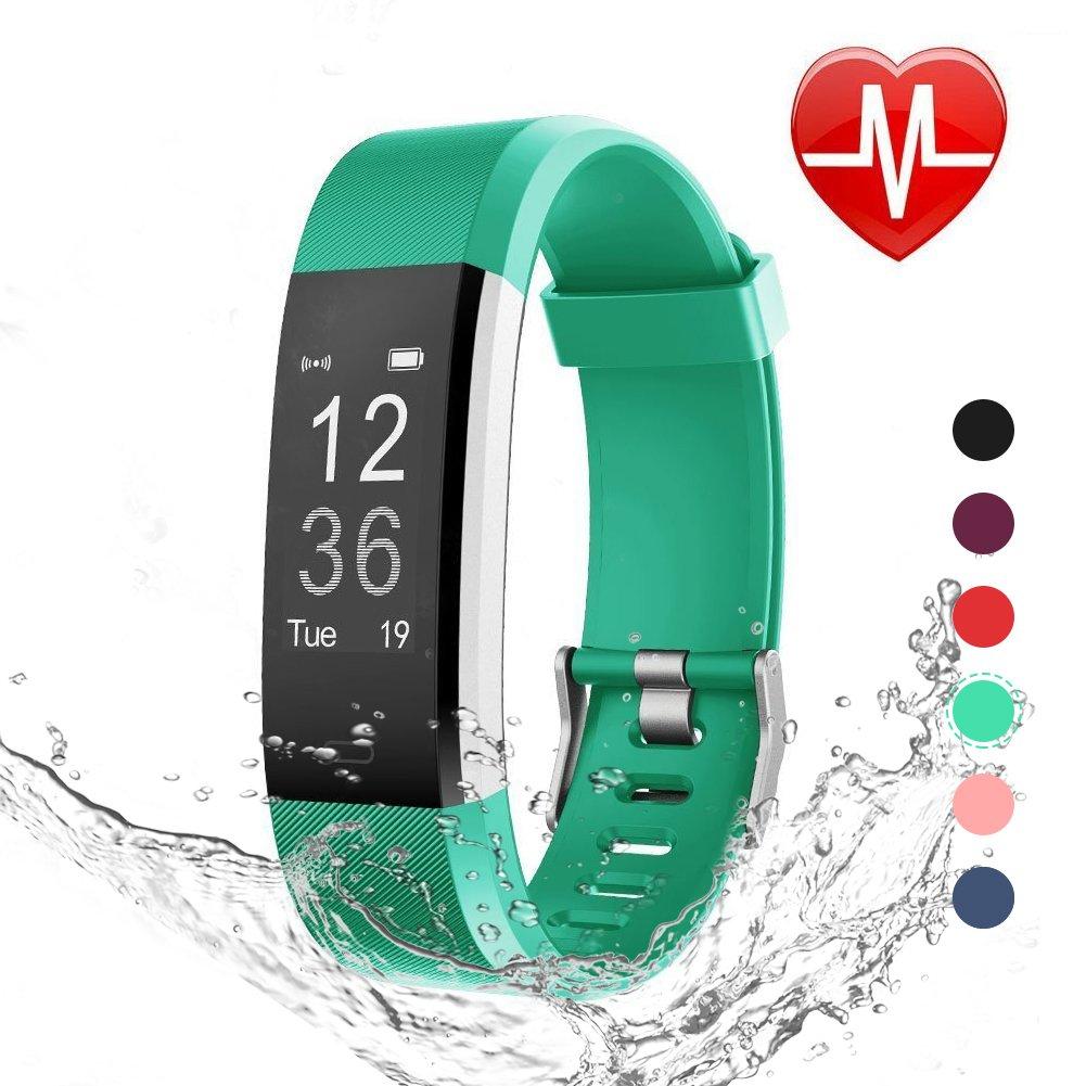 LETSCOM Waterproof Activity Pedometer Wristband