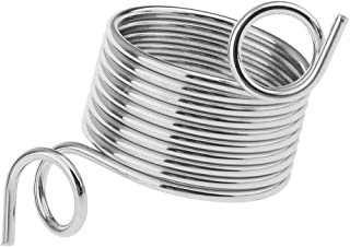 MagiDeal Nickle Plated Wire Yarn Stranding Guide Knitting Thimble for Knitting Crafts