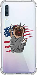 Oihxse Compatible with Huawei Y6 2019 Case Cute Dog Clear Cartoon Pattern Design Transparent Anti-Scratch Shockproof Slim ...