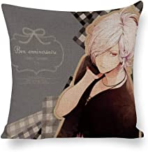 ZIDACC Decorated Cotton and Linen Throw Pillow Animation Diabolik Lovers (10),Classic Animation,Adult Unisex Crew 5555cm