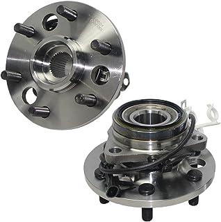 Detroit Axle - 4x4 (Both) Front Wheel Hub and Bearing...