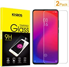 [2 Pack] Khaos for Xiaomi Mi 9T / MI 9T Pro Tempered Glass Screen Protector, Scratch Resistant, Bubble Free
