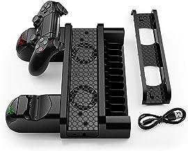 Cgration Dock di Ricarica Veloce per PS4/PS4 Slim/PS4 Pro Controller di Gioco Joystick Joypad Stazione di Caricatore