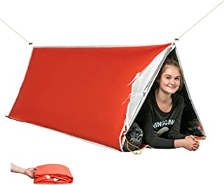 tube tent with rope