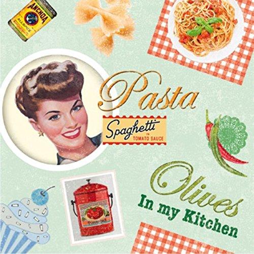 Tovaglioli/Napkins/20ST.packg/tovagliolo Ingegneria/Vintage Cooking/Pasta/Cucina