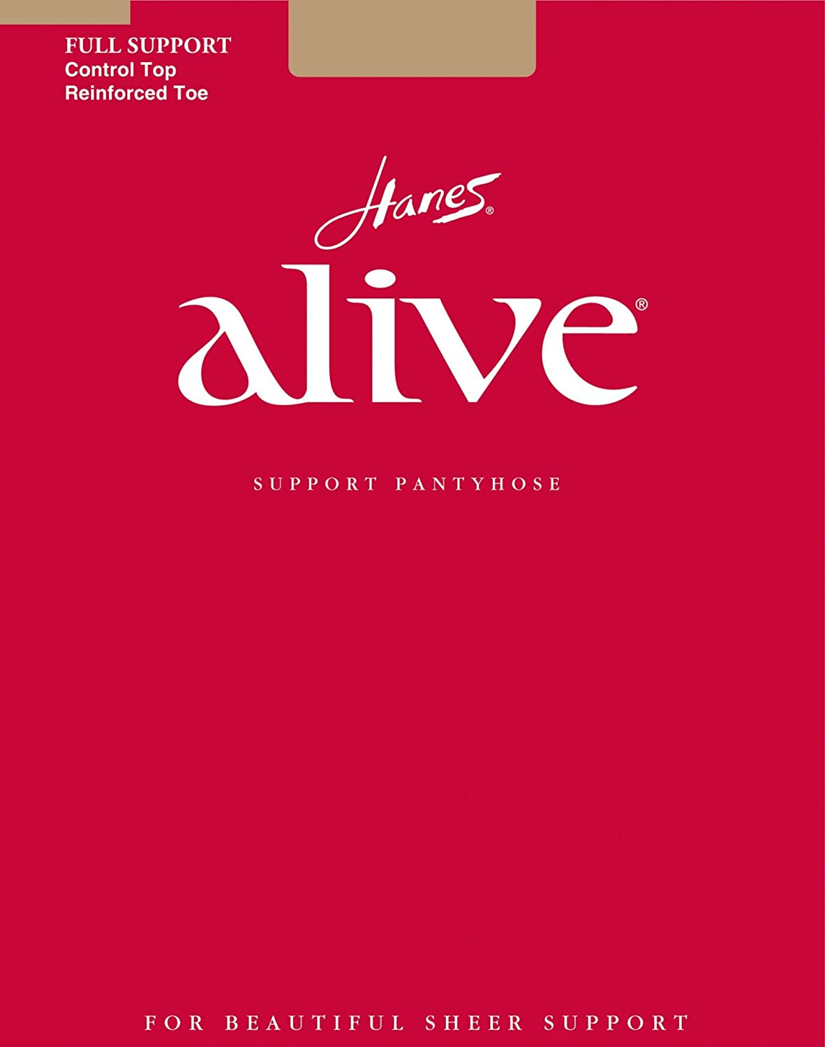 Hanes Alive Full Support Control Top - 810