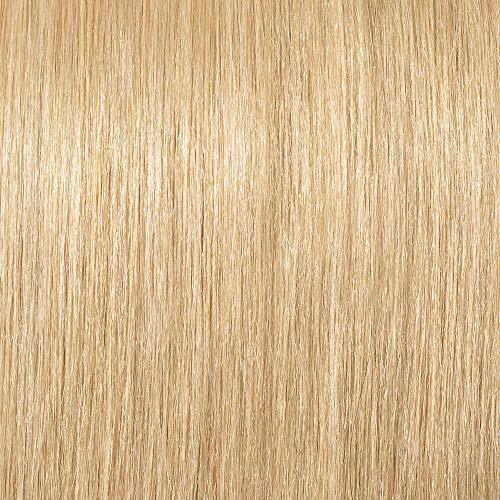 Elailite Extensiones de Clip de Pelo Natural Rizado Cabello Humano Ondulado Doble Volumen 8 Piezas Gruesas Largas 45cm (140g) #24 Rubio Natural