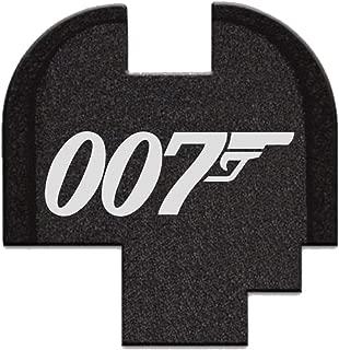BASTION Laser Engraved Rear Cover Slide Back Plate for Springfield XD-S Mod.2 9mm/40Cal - Bond 007