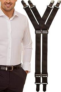 camisas permanece   Hecho a mano en el Reino Unido   se fija a calcetines o alrededor del muslo con ajuste doble   Diseño ligero y superdelgado