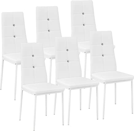 Amazon Fr Chaise Blanche Chaises Salle A Manger Cuisine Maison