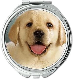 Mirror,makeup mirror,French Bulldog Puppy Dog Cute Pet dog free,pocket mirror,1 X 2X Magnifying