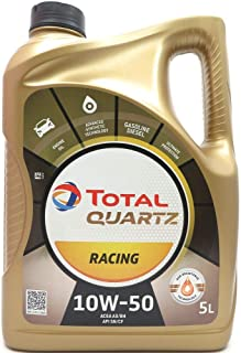 Total Quartz Racing Huile Moteur 10W-50, 5litres