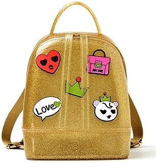 TGLAYA Women Cute Silicone Backpack Female Travel Bags Girl School Bag Lady Shoulder Bag