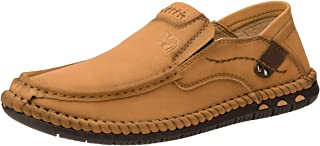 CAMEL CROWN Mocassin Homme Cuir Semelle Souple Respirant Loafers Antidérapant De Conduire Chaussures Décontractées Marche ...
