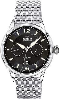 Dugena - 7090304 - Reloj para Hombre, automático, analógico, con manecillas Luminosas, Correa de Acero Inoxidable, Color Plateado