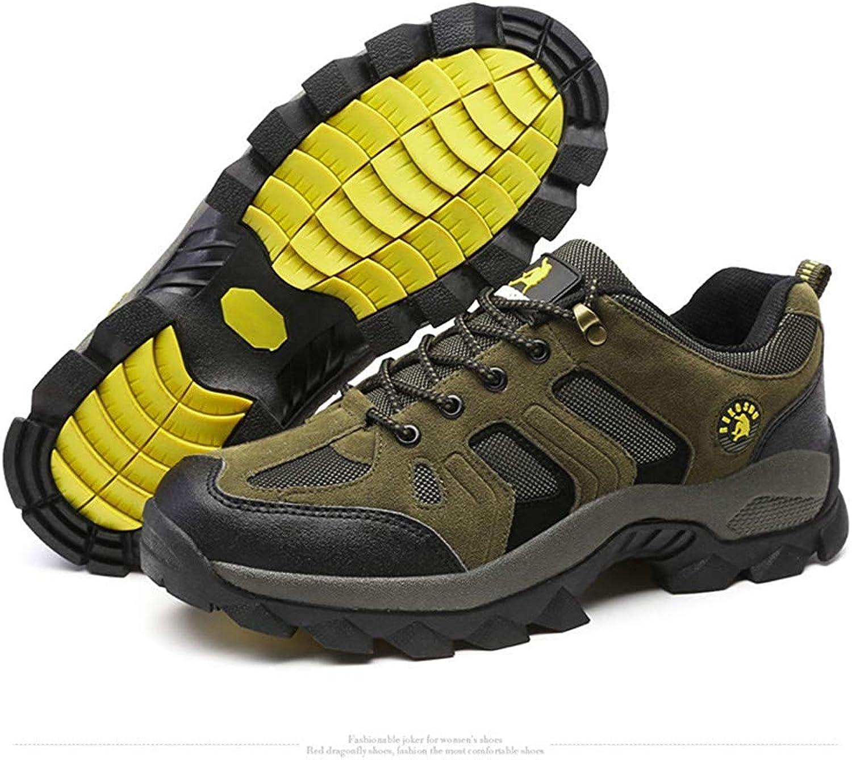 Wanderschuhe Herren rutschfeste Kleidung Kleidung Wild Outdoor Adventure Outdoor-Schuhe Reise Freizeit Wanderschuhe (Farbe   Grün, Größe   EU41)  niedrigste Preise