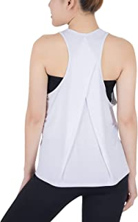 LOFBAZ Workout Tank Tops for Women Yoga Gym Shirts Workout Athletic Clothes