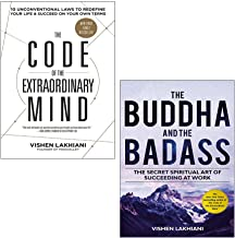 Vishen Lakhiani Collection 2 Books Set (The Code of the Extraordinary Mind, The Buddha and the Badass [Hardcover])