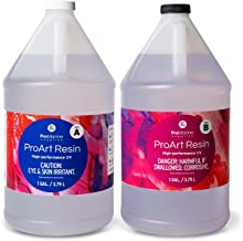 ProMarine Supplies Art Resin – 2 Gal Pro Art Resin Kit – Art Resin Epoxy Clear – Easy to Use – High Gloss Intense Shine – Ideal for Photography, Wood, Artwork