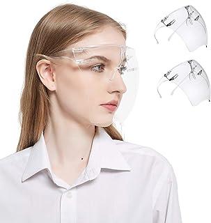 [2 Pack]Safety Face Shields, Ultimate Fit and Comfort Enjoy High-definition Vision,Anti-vertigo, Anti-fog, Anti-static, Un...